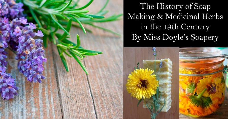 History of Soap Making and Medicinal Herbs in the 19thCentury