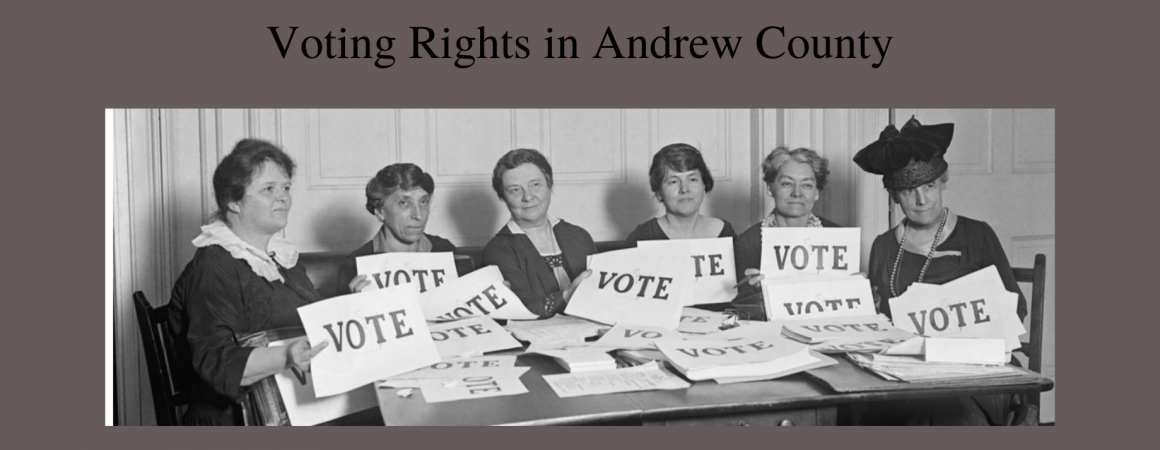Voting Rights in Andrew County